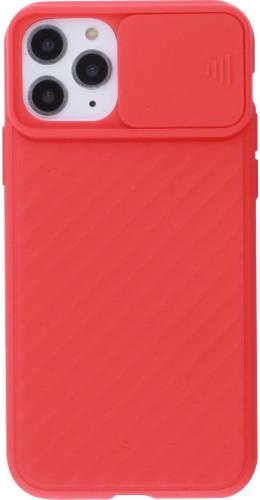 Coque iPhone 11 Pro - Caméra Clapet rouge