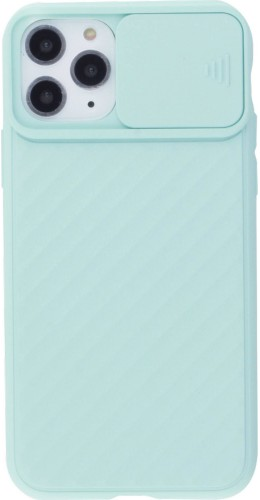 Coque iPhone 11 Pro - Caméra Clapet turquoise