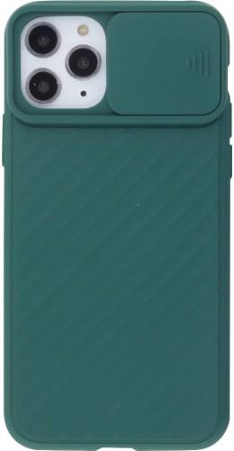 Coque iPhone 11 Pro - Caméra Clapet vert foncé