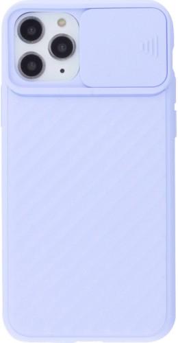 Coque iPhone 11 Pro - Caméra Clapet violet
