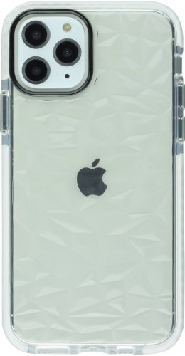 Coque iPhone 11 Pro Max - Clear kaleido blanc