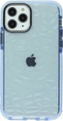 Coque iPhone 11 Pro Max - Clear kaleido bleu