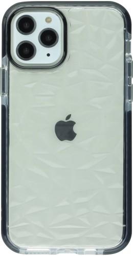 Coque iPhone 11 Pro Max - Clear kaleido noir