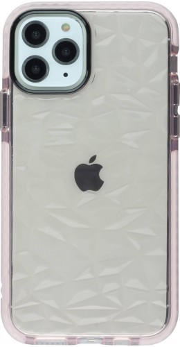 Coque iPhone 11 Pro - Clear kaleido rose