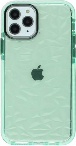 Coque iPhone 11 Pro Max - Clear kaleido vert