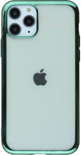 Coque iPhone 11 Pro Max - Electroplate vert