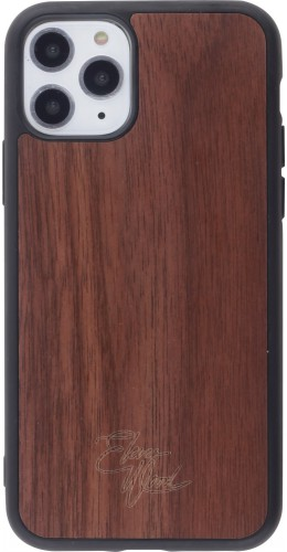 Coque iPhone 11 Pro Max - Eleven Wood Walnut