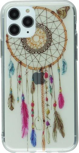 Coque iPhone 11 Pro - Gel Dreamcatcher rose bleu