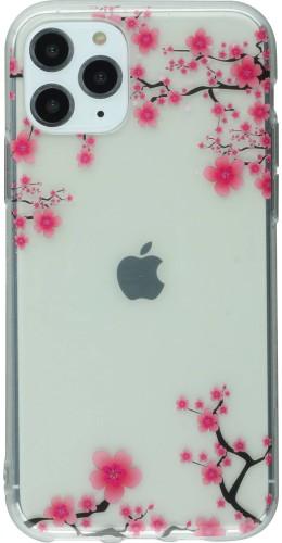 Coque iPhone 11 Pro - Gel petites fleurs