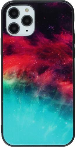 Coque iPhone 11 - Glass Space Nebula