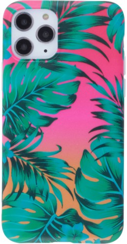 Coque iPhone 11 Pro Max - Jungle Feuilles