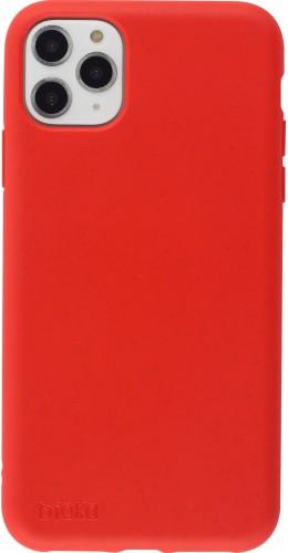 Coque iPhone 11 Pro Max - Bioka biodégradable rouge