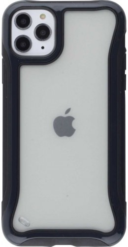Coque iPhone 11 Pro Max - Hybrid Frosted noir