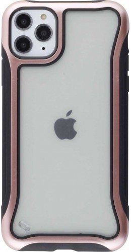 Coque iPhone 11 Pro Max - Hybrid Frosted rose