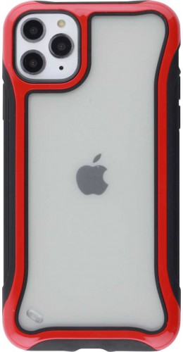 Coque iPhone 11 Pro Max - Hybrid Frosted rouge