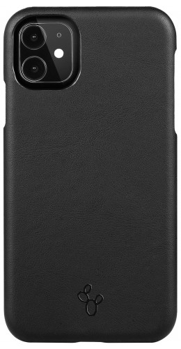 Coque iPhone 11 Pro Max - NOPAAL cuir de cactus vegan noir