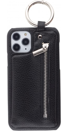 Coque iPhone 11 Pro Max - Wallet Premium avec boucle