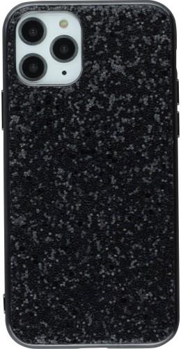 Coque iPhone 11 Pro - Paillettes noir