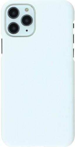 Coque iPhone 11 Pro - Plastic Mat blanc