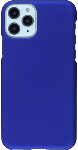 Coque iPhone 11 Pro - Plastic Mat bleu foncé