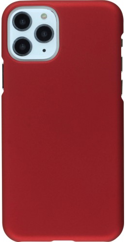 Coque iPhone 11 Pro - Plastic Mat bordeau