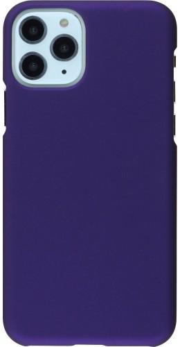 Coque iPhone 11 Pro - Plastic Mat violet