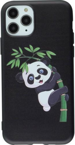 Coque iPhone 11 Pro - Print Panda Bambou