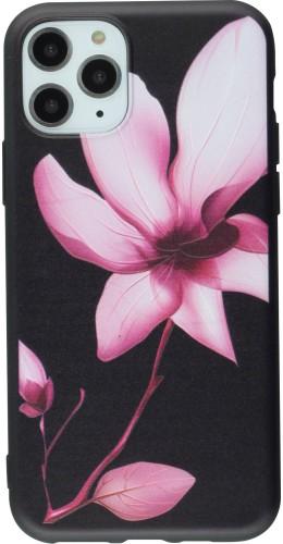 Coque iPhone 11 Pro Max - Print lotus noir