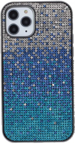 Coque iPhone 11 Pro - Shiny Gradient bleu