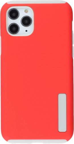 Coque iPhone 11 Pro - Soft Hybrid rouge