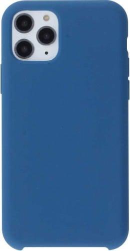 Coque iPhone 11 Pro - Soft Touch bleu foncé