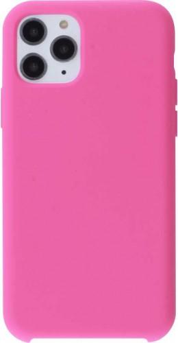 Coque iPhone 11 Pro - Soft Touch rose foncé