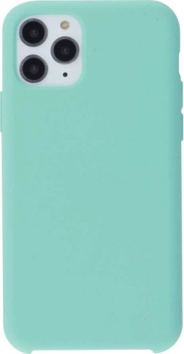 Coque iPhone 11 Pro - Soft Touch turquoise
