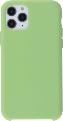 Coque iPhone 11 Pro - Soft Touch vert clair