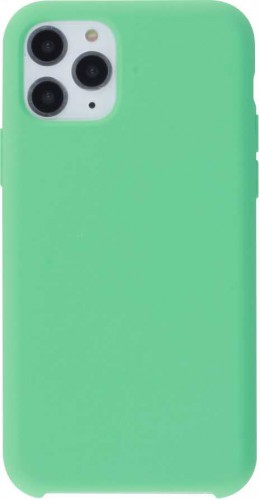Coque iPhone 11 Pro Max - Soft Touch vert menthe