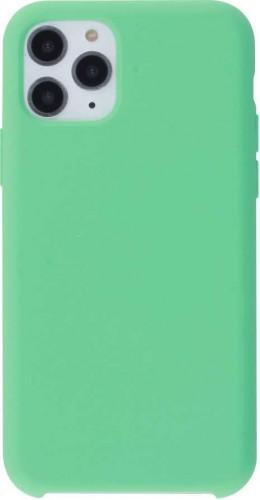 Coque iPhone 11 Pro - Soft Touch vert menthe