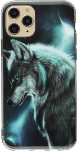 Coque iPhone 11 - TPU Wolf Universe
