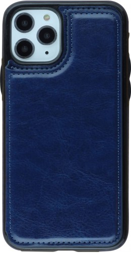 Coque iPhone 11 Pro - Wallet Premium Cards bleu