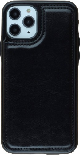 Coque iPhone 11 Pro - Wallet Premium Cards noir