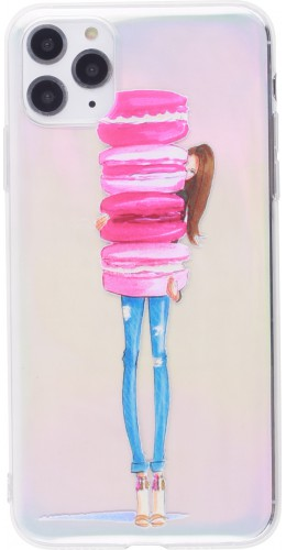 Coque iPhone 12 Pro Max - Woman macaron