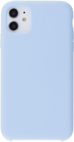Coque iPhone 12 mini - Soft Touch bleu clair