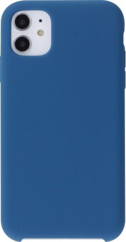 Coque iPhone 11 - Soft Touch bleu foncé