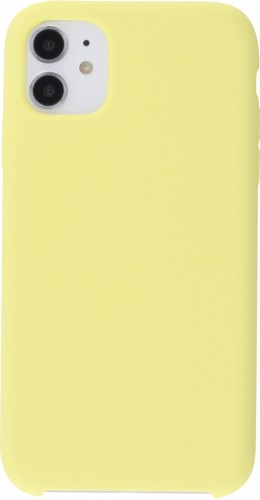 Coque iPhone 11 - Soft Touch jaune