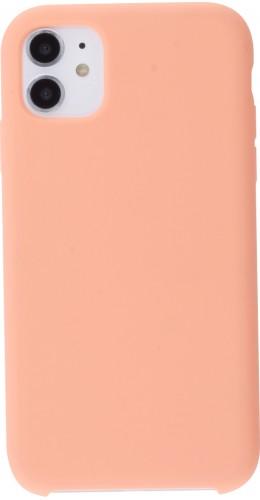 Coque iPhone 11 - Soft Touch orange
