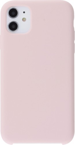 Coque iPhone X / Xs - Soft Touch rose pâle
