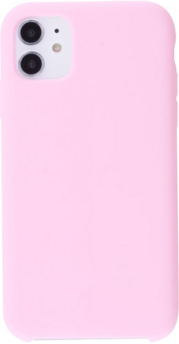 Coque iPhone 11 - Soft Touch rose clair