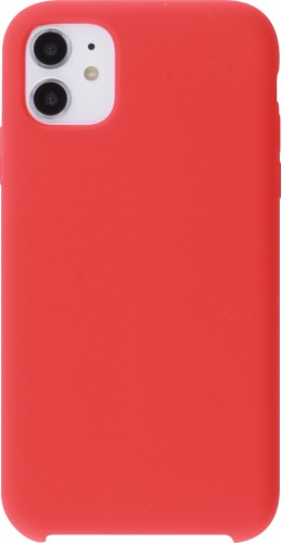 Coque iPhone 11 - Soft Touch rouge