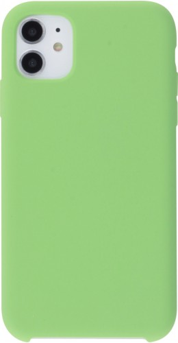 Coque iPhone 11 - Soft Touch vert clair