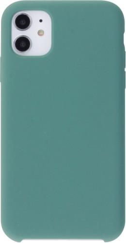 Coque iPhone 12 / 12 Pro - Soft Touch vert foncé
