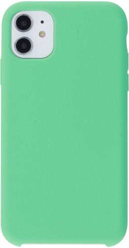 Coque iPhone 11 - Soft Touch vert menthe
